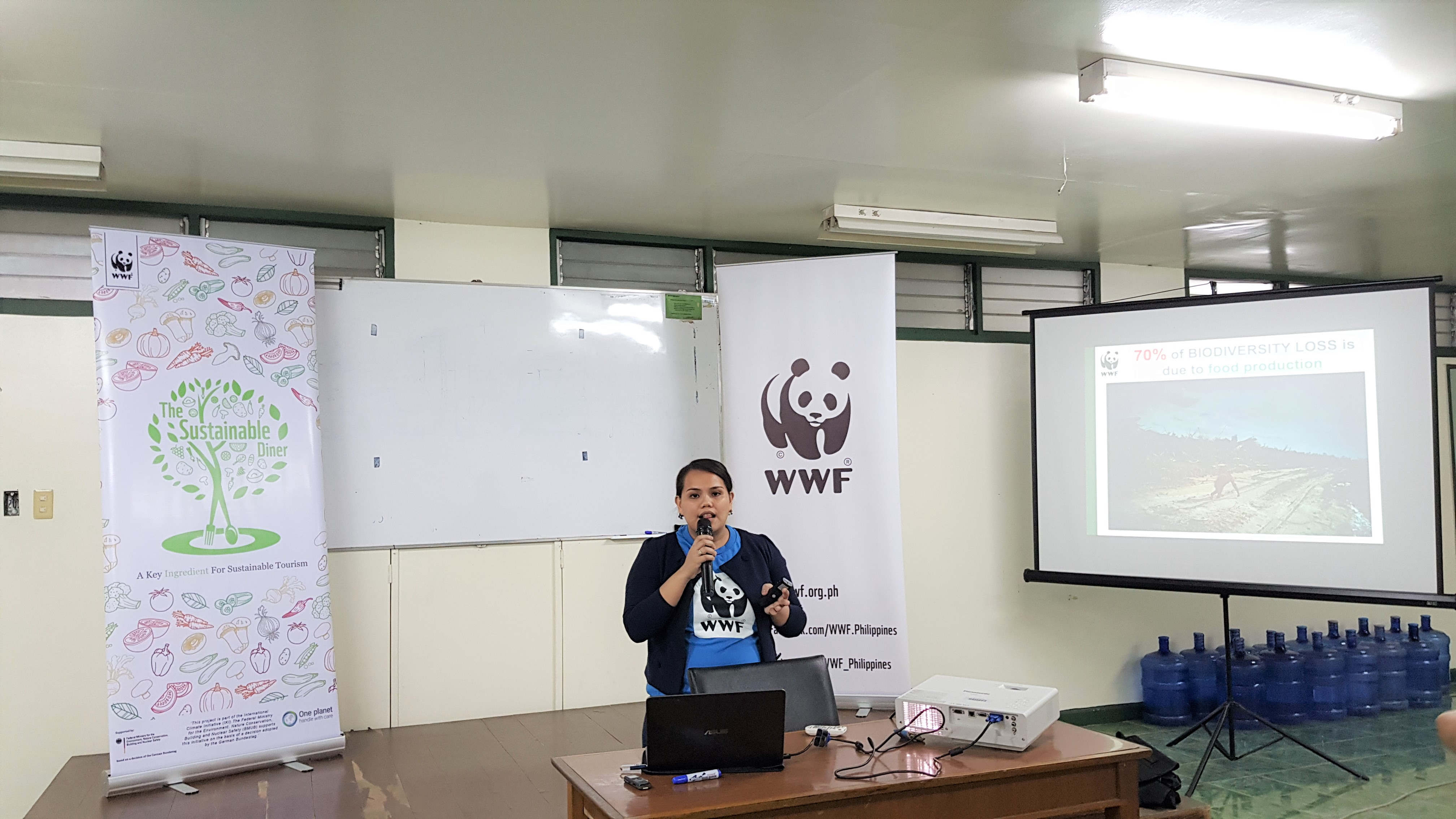 WWF-Philippines | The Sustainable Diner at the UP Club for
